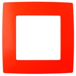 Рамка на 1 пост, красный, 12-5001-23