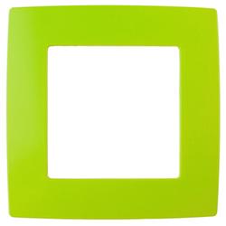 Рамка на 1 пост, лайм, 12-5001-26