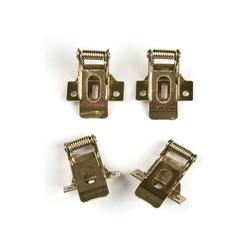 UFL-F04 SILVER 150 POLYBAG Комплект крепежных скоб на пружинах (4шт.) для установки в гипсокартон.