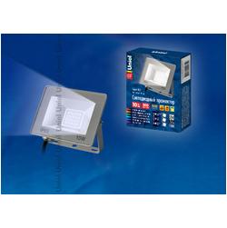 ULF-F15-10W/WW IP65 185-240В SILVER Прожектор светодиодный. Теплый белый свет.