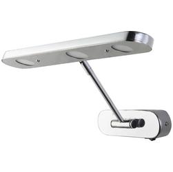 040-008-0009 Светильник для подсветки зеркал 9W Серебро