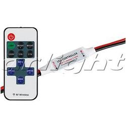 Диммер LN-RF11B-MINI-Wires(12-24V,72-144W, ПДУ 11кн)