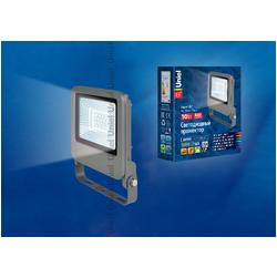 ULF-F17-10W/NW IP65 195-240В SILVER Светодиодный прожектор 10 Вт  Белый свет.