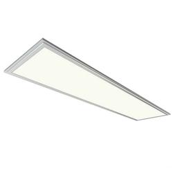 SPL-6-40-6K (S) Светодиодный офисный светильник IP40 295x1195x8 40Вт 2800Лм 6500K Ra>80 NationStar Корпус - серебро (2/6/144) БЕЗ Источника Питания