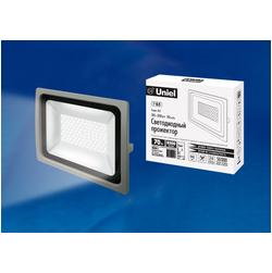 ULF-F16-70W/NW IP65 185-240В SILVER Прожектор светодиодный. Белый свет (4000K). Корпус серебристый