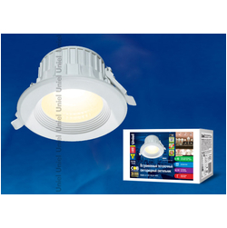 ULT-D01C-10W/NW WHITE Светильник светодиодный встраиваемый потолочный