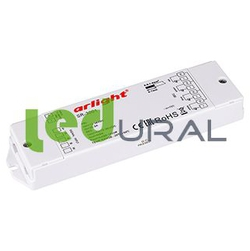 RGB-усилитель SR-3001 (12-36V, 240-720W, 4CH) (ARL, IP20 Пластик, 3 года)