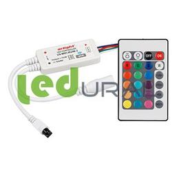 RGB контроллер LN-WIFI-IR24B-2 (12-24V, 72-144W, ПДУ 24кн, RGB)