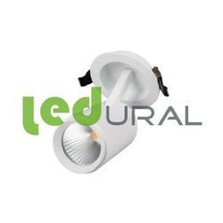 Светодиодный точечный светильник LGD-678WH-9W Warm White 25deg