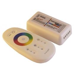 Контроллер RGB+W 2.4 G сенсорный 4Ch*6A 12/24V Белый