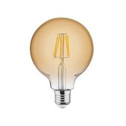 Светодиодная филаментная лампа 6W 2200К E27 Глобус