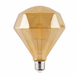 Светодиодная филаментная лампа 6W 2200К E27 Брил