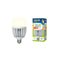 LED-M80-30W/WW/E27/FR/S Светодиодная промышленная Лампа с матовым рассеивателем. Теплый белый свет. Серия Simple