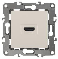 Розетка HDMI, слоновая кость, 12-3114-02