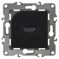 Розетка HDMI, чёрный, 12-3114-06