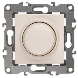 Светорегулятор поворотно-нажимной, 400ВА 230В, слоновая кость, 12-4101-02