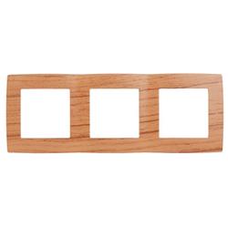 Рамка на 3 поста, дуб, 12-5003-09