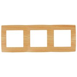 Рамка на 3 поста, сосна, 12-5003-11