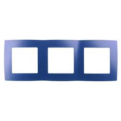 Рамка на 3 поста, ультрамарин, 12-5003-29
