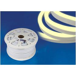 ULS-N21-2835-120LED/m-8mm-IP67-220V-8W/m-50M-WW Светодиодная гибкая герметичная лента. NEON. Бобина 50 м. Теплый белый свет (3000К).