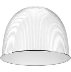 Акриловый диффузор промышленный 60 градусов с матовым рассеивателем-крышкой 410х265мм (для купольных светильников)