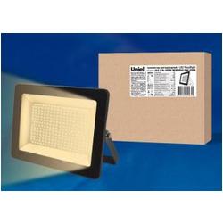 ULF-F18-150W/WW IP65 200-240В BLACK Прожектор светодиодный. Теплый белый свет (3000K). Корпус черный.