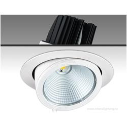 TURN LED 37W/850 38° white 1,05A 5000К - встраиваемый светоидиодный точечный светильник , белый, выдвижной поворотный