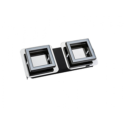 036-007-0002 Светодиодный светильник потолочный 2*5W 4000K Хром