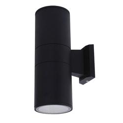 075-008-0003 HL267 Садовый светильник 2*17W E27 Черный