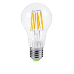 Лампа светодиодная LED-A60-PREMIUM 6Вт Е27 3000К 540Лм прозрачная. Теплый белый