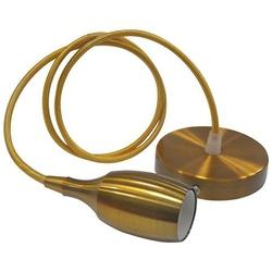 HOROZ 021-008-0001 Светодиодный светильник подвесной 1м Е27 Золото