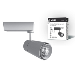 ULB-Q252 24W/NW/H WHITE Светильник светодиодный трековый. 24 Вт. 2000Лм. Белый свет (4200К). Корпус белый. 7,5*18см.