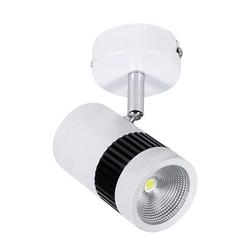 HOROZ 017-002-0008 Светодиодный трековый светильник накладной 8W 4200K 500ЛМ 53° IP20 Белый