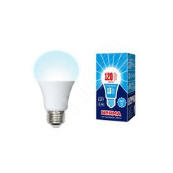 LED-A60-13W/NW/E27/FR/NR Лампы светодиодные. Форма A, матовая. Серия Norma. Белый свет (4000K).