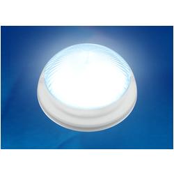 ULW-R05 12W/NW IP64 WHITE Светильник светодиодный влагозащищенный. Круг. 12Вт, 1200 Лм, Белый свет (4500K), 220В, Диаметр 21 см. Белый.