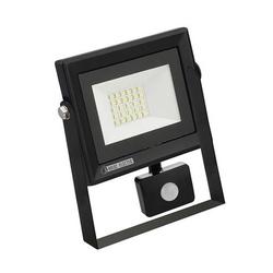 HOROZ 068-009-0020  Светодиодный прожектор 20W с датчиком движения 6400K  220-240V Черный