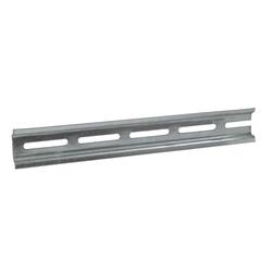 Дин - рейка ( DIN ), перфорированная, 7.5 х 35 мм, L 300 мм, оцинкованная IEK