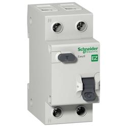 Дифференциальный автоматический выключатель EASY 9 1P+N 25А 30мА C AC 4,5 кА