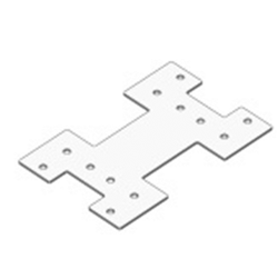 Пластина для светильника Geniled ЛПО 1500х100х50