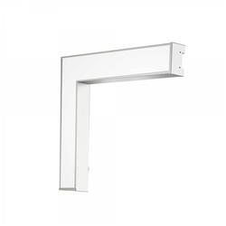 Светодиодный угловой светильник Geniled Trade Linear L 583/516х100х65 20Вт 5000K Опал поликарбонат