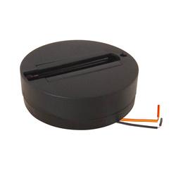 UBX-Q121 K81 BLACK 1 POLYBAG Чашка потолочного крепления для шинопровода. Однофазная. Черный аксессуар.