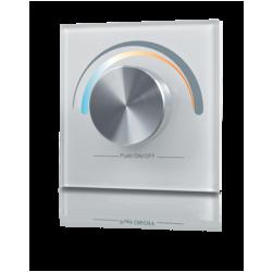 W-CCT (W) Радио панель встраиваемая в стену с валкодером на 1 зону для MIX ленты. Белая