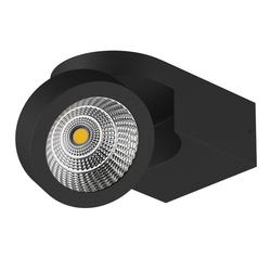 Светильник SNODO LED 10W 980LM 23G ЧЕРНЫЙ 4000K IP20 (055174)