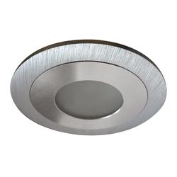 Светильник LEDDY CYL LED 3W 240LM АЛЮМИНИЙ 3000K в стену в подрозетник с трансф(в комплекте) (212170)