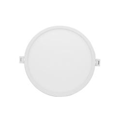 Светодиодная панель встраиваемая круглая 220В, 18Вт, CRI:80Ra, 1440Лм, Ф 170/155 мм,  алюминиевый корпус, изолированный драйвер, 4500К