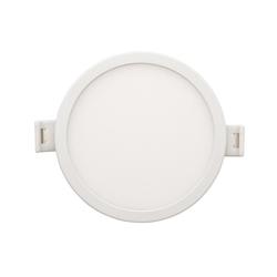 Светодиодная панель встраиваемая круглая 220В, 18Вт, CRI:80Ra, 1440Лм, Ф 170/155 мм, алюминиевый корпус, изолированный драйвер, 6500K
