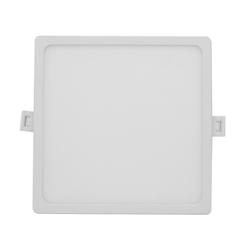 06-30 Светодиодная панель встраиваемая квадр. 220В, 15Вт, CRI:80Ra, 1200Лм, 145*129 мм,  алюминиевый корпус, встроенный изолированный драйвер, 4500К