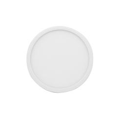 06-64 Светодиодная панель накладная круглая 220В, 18Вт, CRI:80Ra, 1440Лм, Ф 170 мм, алюминиевый корпус, изолированный драйвер, 6500K