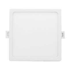 06-60 Светодиодная панель встраиваемая квадр. 220В, 20Вт, CRI:80Ra, 1600Лм, 170*155 мм, алюминиевый корпус, встроенный изолированный драйвер, 6500K
