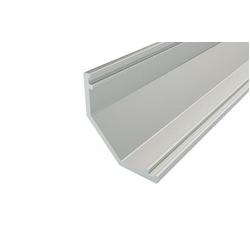 Профиль алюминиевый LC-LSU-1616-2 Anod